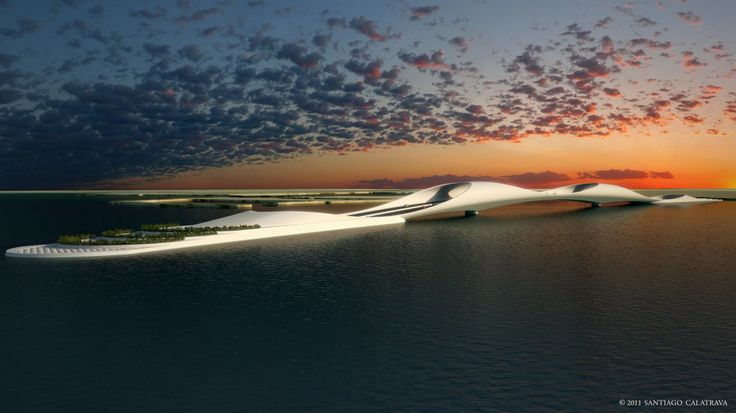 Sharq Crossing es un conjunto de tres #puentes interconectados en Qatar