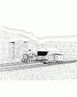 Henry coloring page thomas friends coloring pages for for Henry the train coloring pages