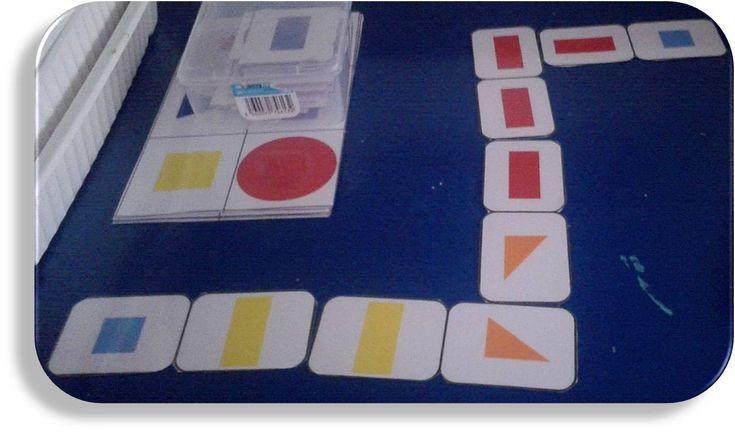 domino formes géométriques