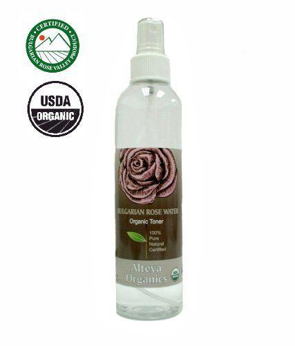 USDA Organic Rose Water - Toner Mist - 8.5 oz. - http://essential-organic.com/usda-organic-rose-water-toner-mist-8-5-oz/