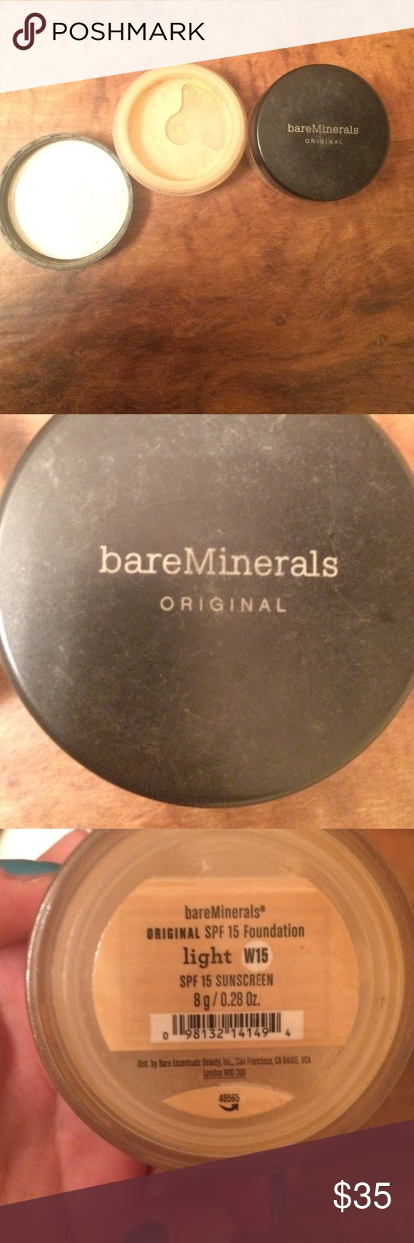 Two light bare mineral powder foundations! Bare minerals