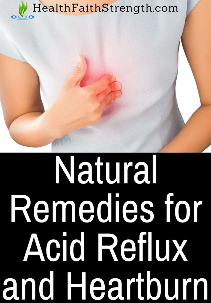 Besides using antacids, there are some easy, healthy, and natural remedies for acid reflux and heartburn that you can try. | HealthFaithStrength.com