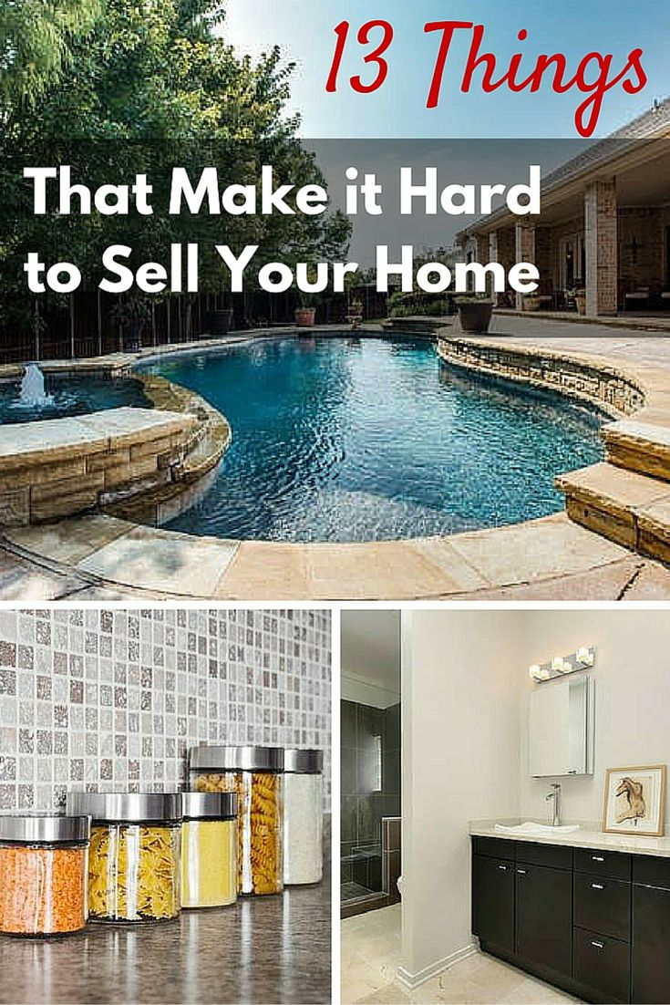 Know that some design choices will make it harder to sell your house in the future. Weigh the pros and cons before choosing to make any of these upgrades. #ThisGirlSellsHouses #realestate
