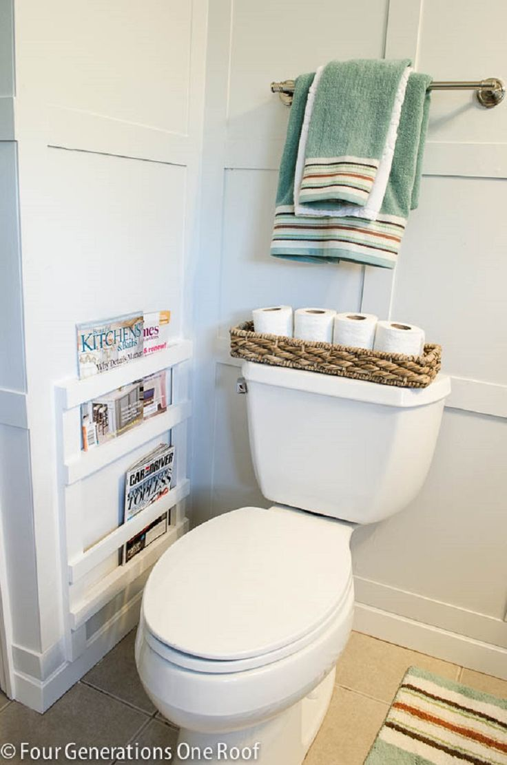 15 Beautiful Ways to Organize Your Bathroom Supplies - GleamItUp