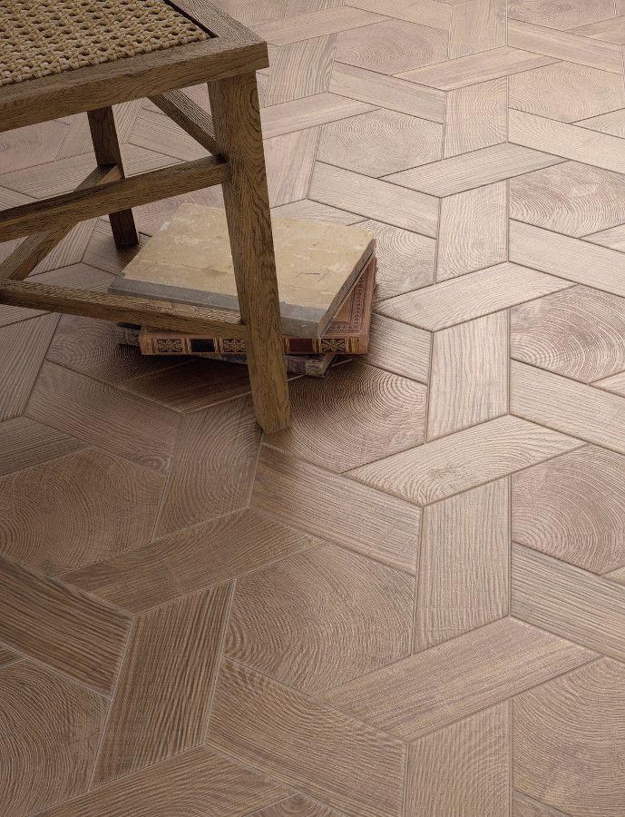 Ceramic floor #tiles HEXAWOOD by EQUIPE CERAMICAS