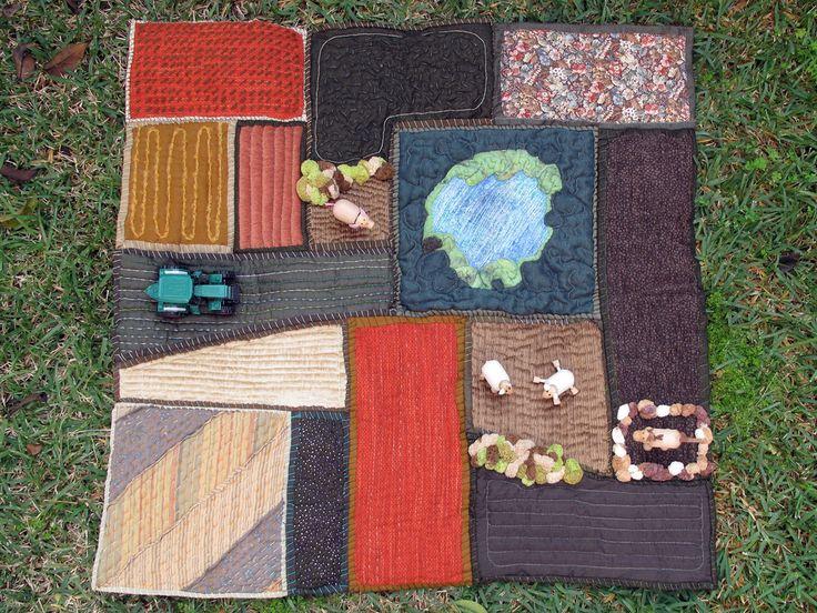 88 best farm play mat images on Pinterest | Playground mats ... : quilt play - Adamdwight.com