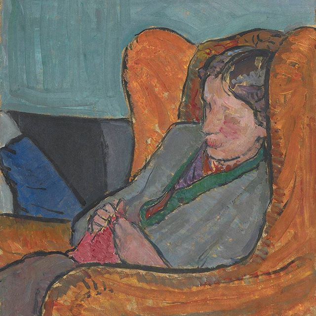 Happy Birthday Virginia Woolf! #BornOnThisDay in 1882. In just a few weeks we'll be shining a light on her sister #VanessaBell presenting her paintings, photographs and even the book jacket designs she created for Woolf's works. However, today we are sharing a portrait of Woolf painted by Bell in 1912 that will be on display from 8 Feb - link in the bio!  Image credit: Vanessa Bell, Virginia Woolf, c. 1912, oil on board, 40 x 34 cm. © National Portrait Gallery, London, NPG 5933. . . #OTD…