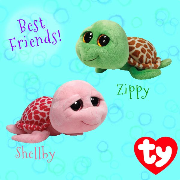 Zippy and Shellby are best friends!