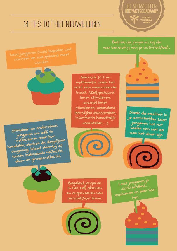 14 tips CIS - 1: 'Het nieuwe leren'