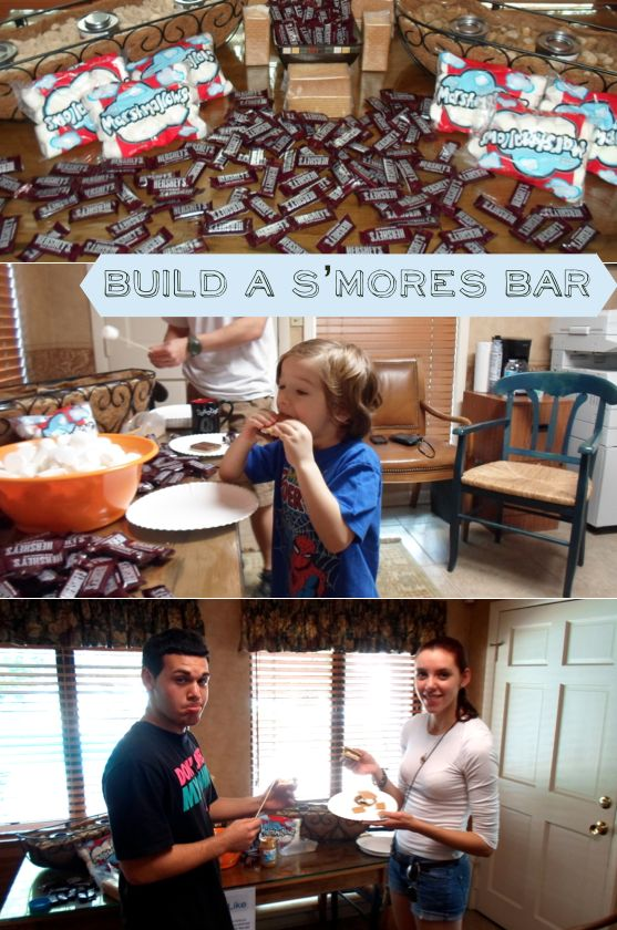 Build a S'mores Bar for Resident Appreciaiton Week | CMC Apartments
