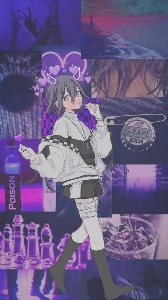Kokichi Edit Wallpaper Aesthetic Anime Cute Anime Wallpaper Anime Wallpaper