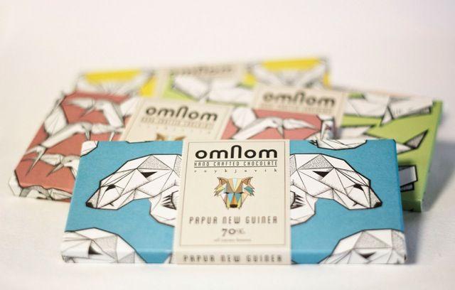 omnom chocolate iceland packaging 1