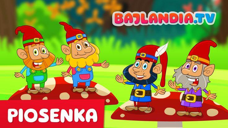 Piosenki dla dzieci - My jesteśmy Krasnoludki -  teledysk w HD - bajland...