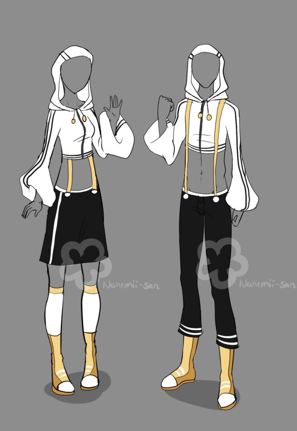 Girl'n'Boy Workout Outfit - unlimited by Nahemii-san ...