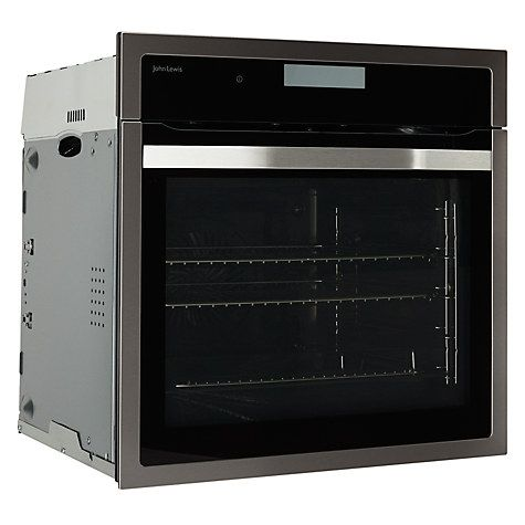 Buy John Lewis JLBIOS617 Single Oven, Stainless Steel Online at johnlewis.com