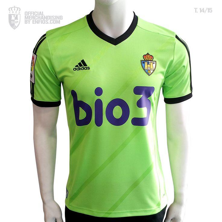 Camiseta 3º oficial S. D. PONFERRADINA, temporada 2014 / 15 , Liga Adelante.
