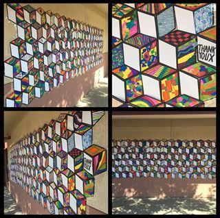 Check out student artwork posted to Artsonia from the ThankYouX Collaborative Mural project gallery at Natomas Charter School - Leading Edge Academy.
