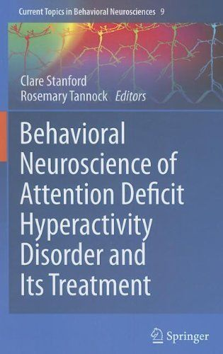 Behavioral Neuroscience of Attention Deficit Hyperactivity Disorder and Its Treatment (Current Topics in Behavioral Neurosciences) by Clare Stanford. Includes chapter by Gonzalo P. Urcelay & Jeffrey W. Dalley. Classmark 20.101 (MacCurdy). Check availability on LibrarySearch http://search.lib.cam.ac.uk.
