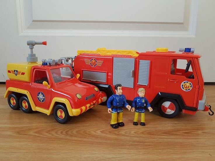 Brandweerman Sam Speelgoed. Voor echt stoere brandweermannen!