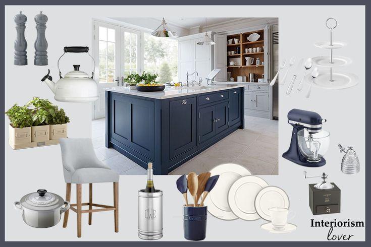 Accesorios para una cocina estilo transicional o estilo americano