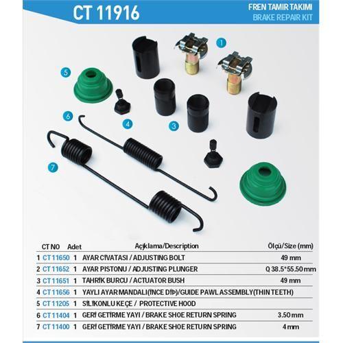 Brake Repair Kit For Q410  Simplex Type Caliper