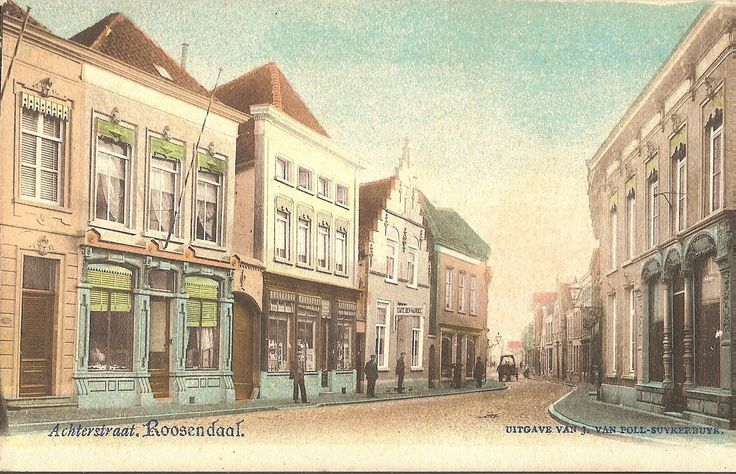 Achterstraat   Roosendaal Nostalgie