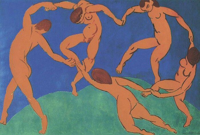 Dance (II) 1910 260 x 389 cm. Saint Petersburg