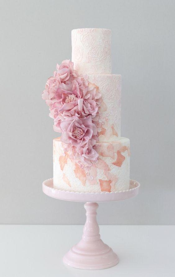 Empfohlener Kuchen: Zoe Clark Cakes; www.zoeclarkcakes … Hochzeitstorte Ideen   – Cake