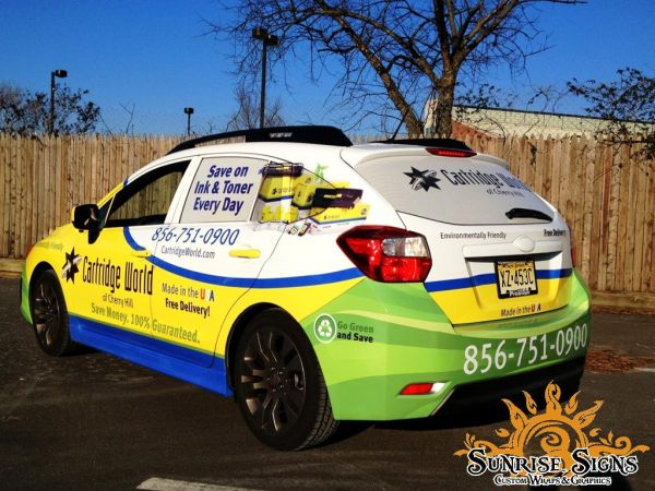 Office Supply Delivery Car Wraps Advertising Vehicle Wraps New