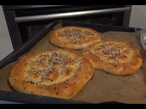 Ekmek tarifi+Ramazan pidesi+Yumusacik cok lezzetli-Hatice Mazi
