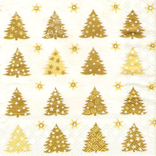 Servítky - Vianočné stromčeky