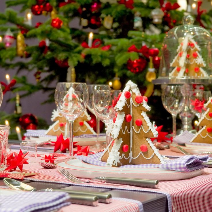 50 Stunning Christmas Table Settings Part 39