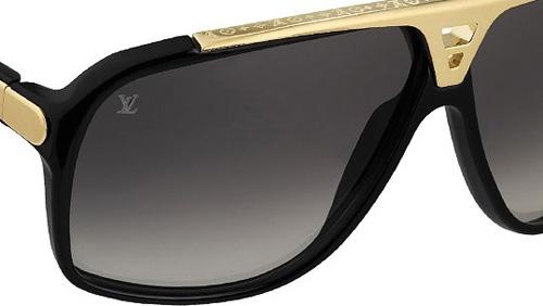 black and gold louis vuitton sunglasses