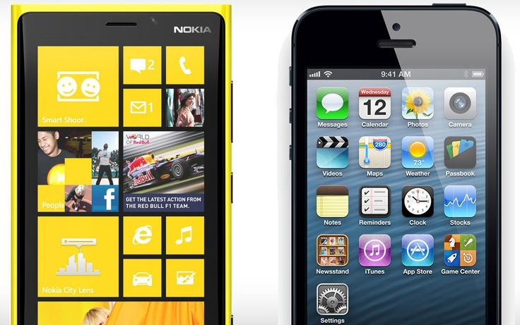 iPhone 5 vs Nokia Lumia 920