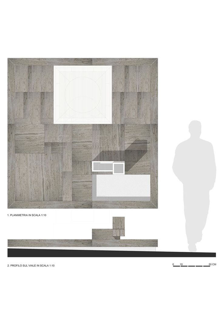 Restyling monumento funebre, Alcamo, 2013 - AREA STUDIO architetti associati