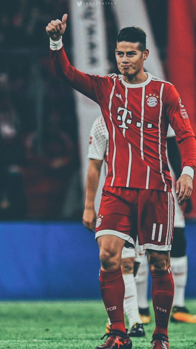James Rodriguez #football #bundesliga #bayernmunich