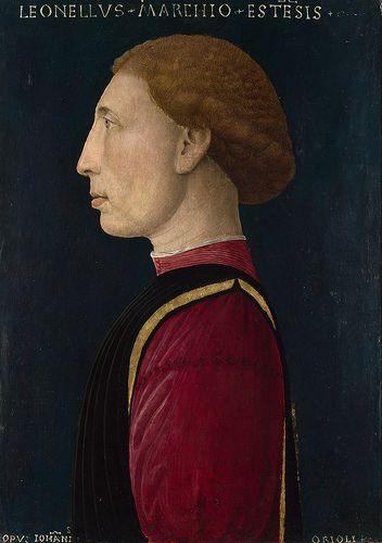 Leonello d'Este Artist: Giovanni da Oriolo ca 1447 nationalgallery.co.uk