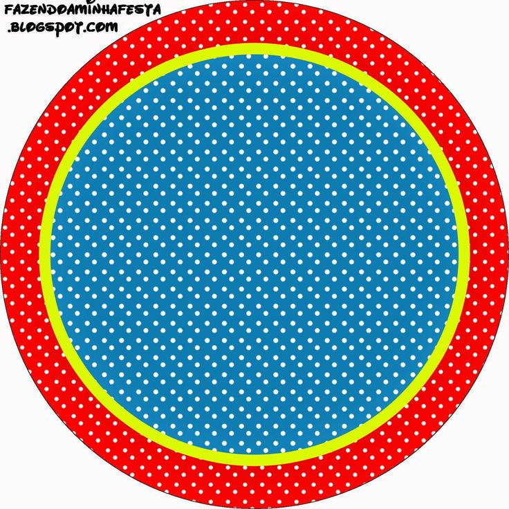 Red, Yellow and Blue:  Free Printable Cupcake Toppers and Wrappers.