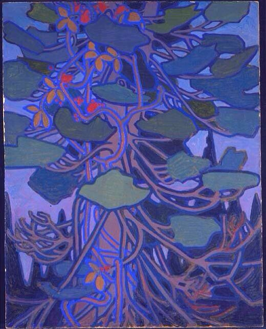 Decorative Panel no.1, by Tom Thomson, 1915. Group of Seven
