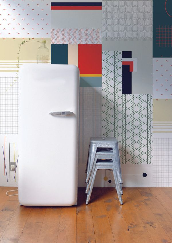 Cut & Paste Wallpaper Collection by All The Fruits