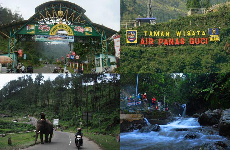 Obyek Wisata Guci Tegal Jawa Tengah