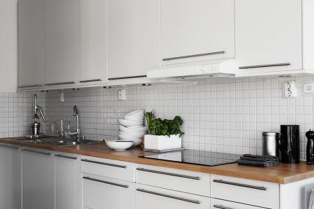 20 best white kitchen images on pinterest white kitchens for Decoracion pisos pequenos