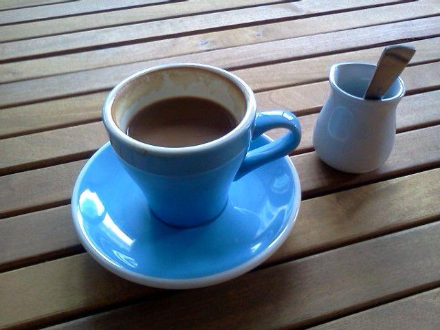 Looks good but tasted burnt. Worst coffee everrrrrr!