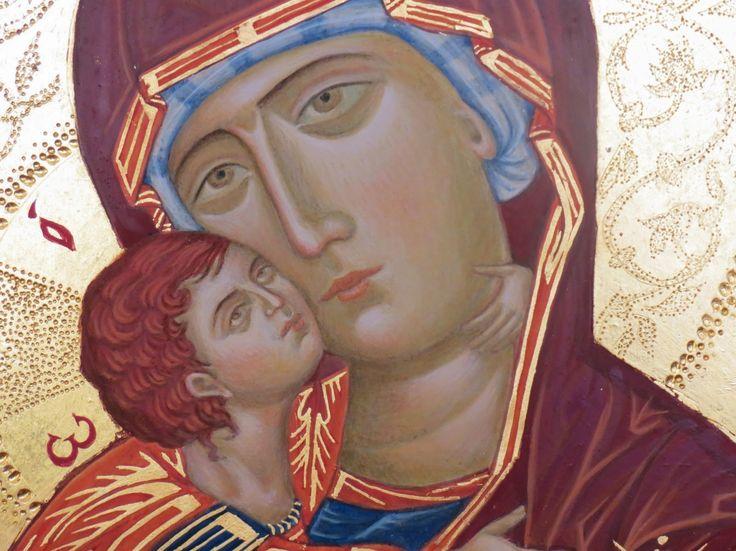 Vergine di Vladimir - particolare