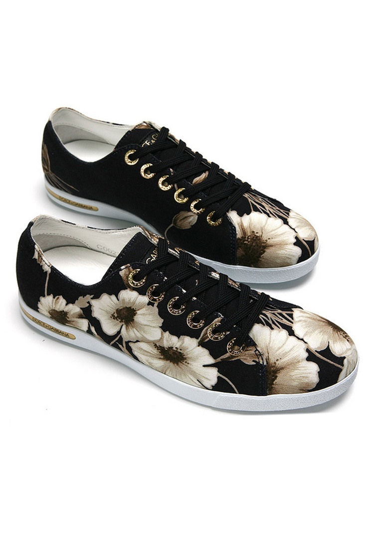 DOLCE & GABBANA | Çiçek Baskılı Kanvas Spor Ayakkabı | So lovely  i want it