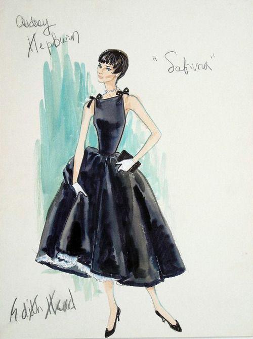Audrey Hepburn Sabrina Look