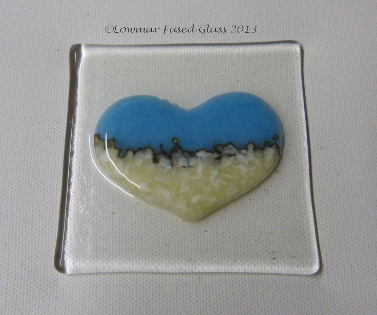 Lovely little fused glass heart: www.fusedartglass.co.uk