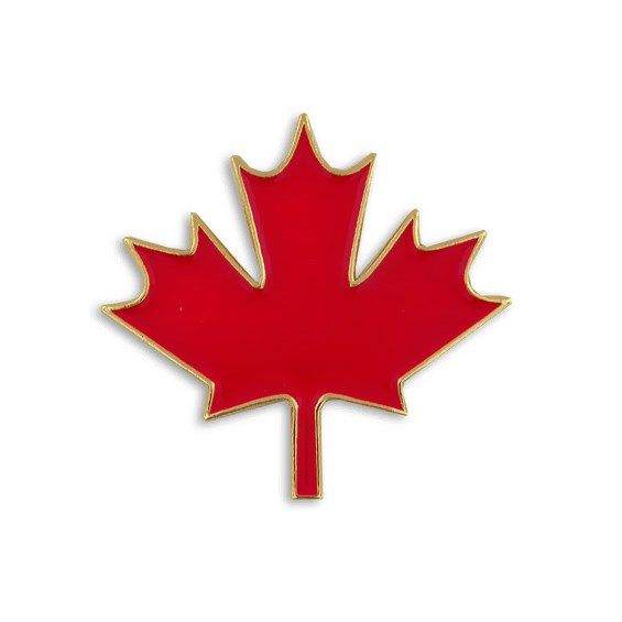 Canadian Maple Leaf Pin, Maple Leaf Pins, Red Maple Leaf - PinMart | PinMart