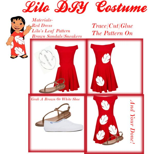 33 best halloween ideas images on pinterest costume ideas lilos diy halloween costume by disneyfash1on on polyvore featuring motel keds and inuovo solutioingenieria Images