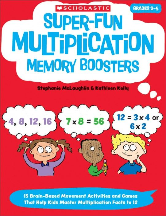 7 best homeschoolholastic images on pinterest learning super fun multiplication memory boosters fandeluxe Gallery
